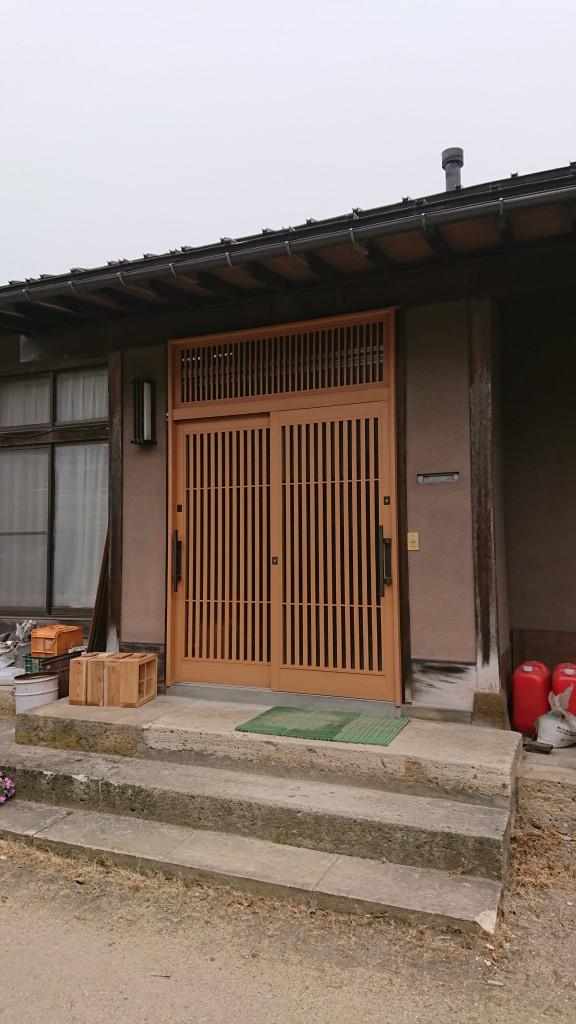 漆山・古塚・玄関交換3